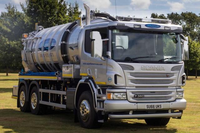 Aquaflow Services Vacuum Tanker